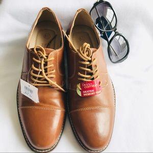 Dexter Comfort Cognac Dress Shoes Size 9.5